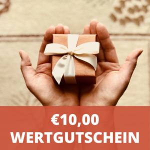 € 10,- Wertgutschein - LebensForm Shop