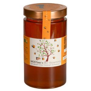 BIO Blütenhonig 900g MOSTbees Honig - LebensForm Shop