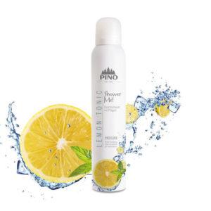 PINO Duschschaum Lemon Tonic 200ml - LebensForm Shop