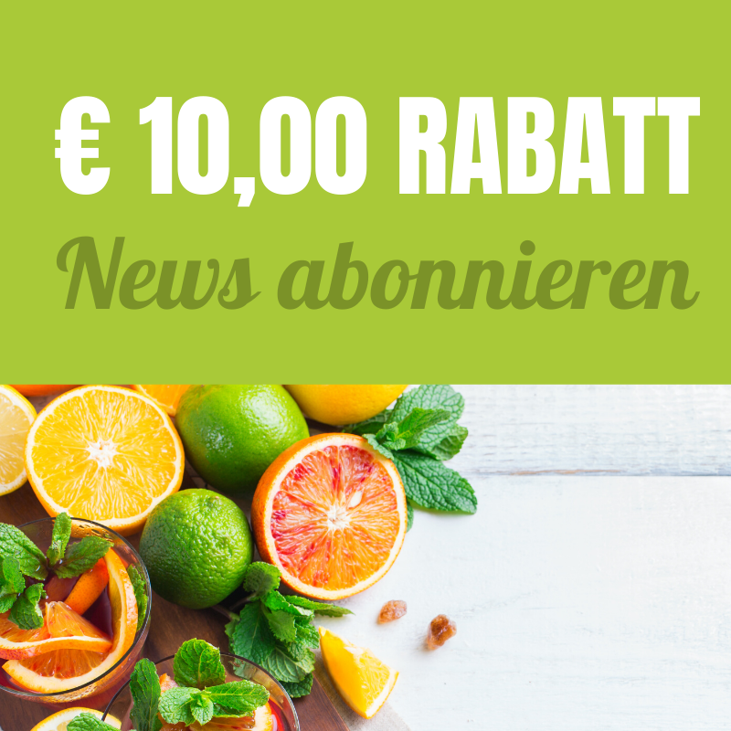 Newsletter 10 Euro Rabatt - LebensForm Shop