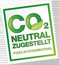 CO2 neutrale Zustellung mit öster. Post