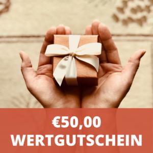 € 50,- Wertgutschein - LebensForm Shop