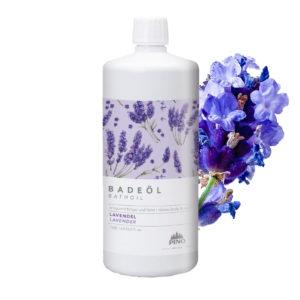 PINO Badeöl - Lavendel 1000ml - LebensForm Shop