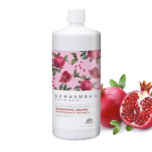 PINO Schaumbad - Granatapfel Arganöl 1000ml - LebensForm Shop