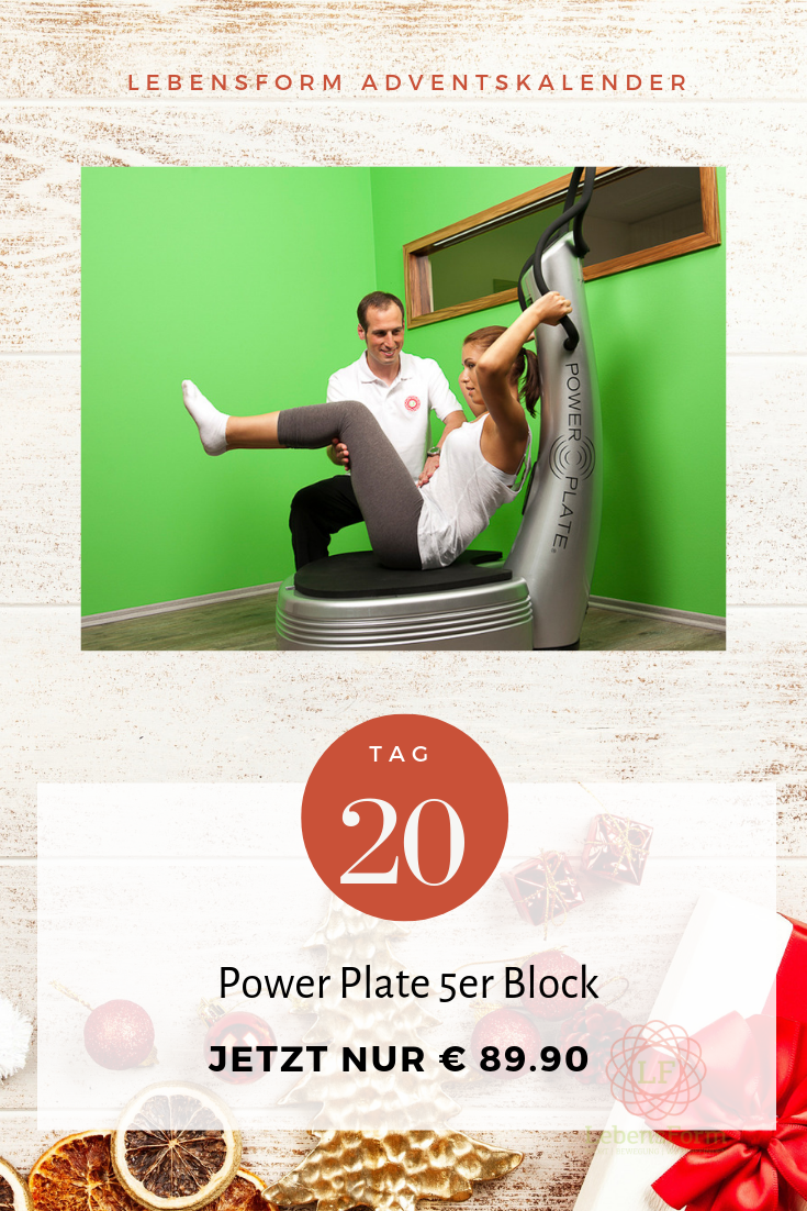 Power Plate 5er Block - Lebensform