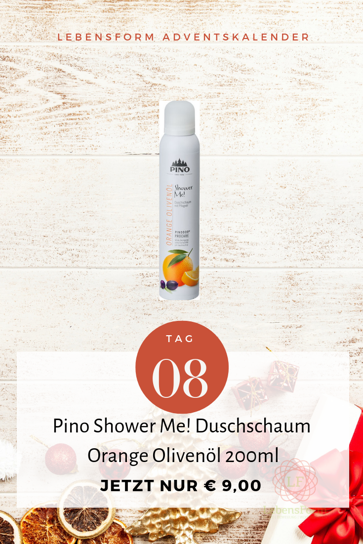 Pino Shower Me Orange - Lebensform