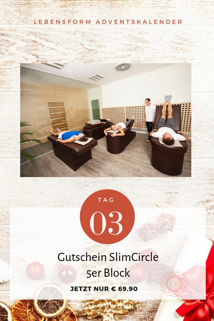 Tag 3 - Gutschein Slim Circle