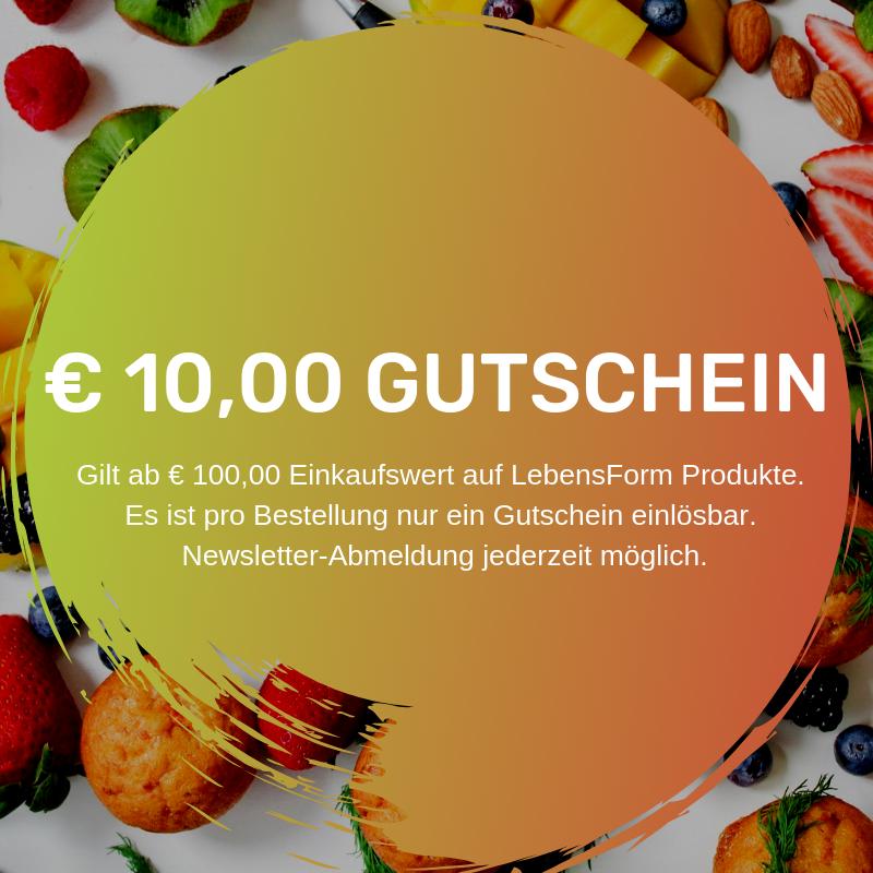 € 10,00 Rabatt