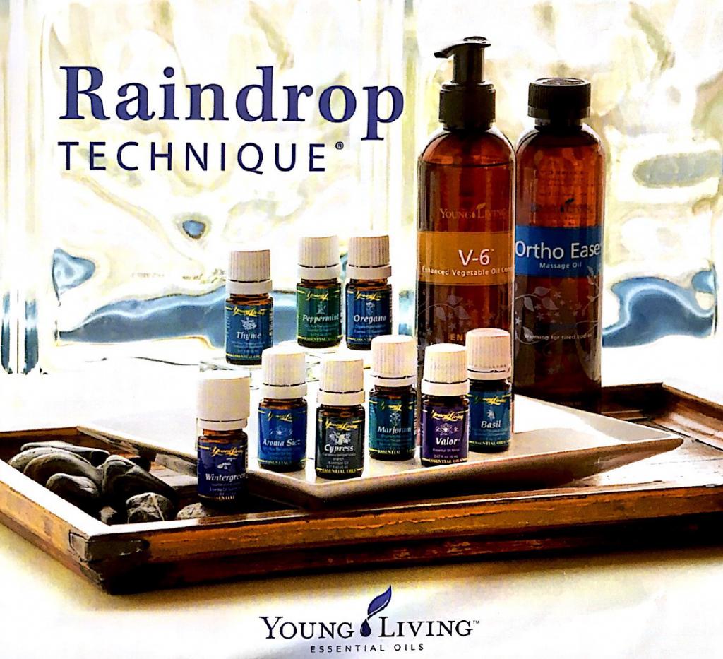 Raindrop Technique bei LebensForm